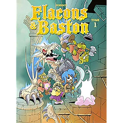 Flacons et Baston T1