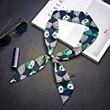 YRXDD Le Piccole Sciarpe Signore Primavera e Autunno Sezione del Lungo Flusso Selvatico di Piccola Sciarpa Stretta (5 * 90cm), Colore 17