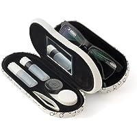 Balvi - Boite à Lunettes et à lentilles Twin avec Miroir intégré. Comprend Un étui pour Les lentilles, Deux flacons pour…