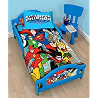 DC Super Friends Buddies Junior Toddler Bed
