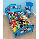 DC Super Friends Buddies Junior Toddler Bed