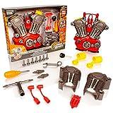 Take Apart® Tool Kit Motore Auto costruibile - Luci e Suoni Giocattolo da Costruzione