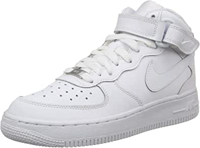 Nike Air Force 1 Mid (GS), Baskets Hautes Homme