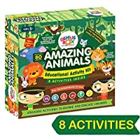 Genius Box - Play some Learning Toys for Children : Amazing Animals Educational Toys / Learning Kits / Educational Kits / STEAM