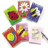 Baker Ross Mini bloc-notes parfumés (paquet de 12) pour pochettes-surprises