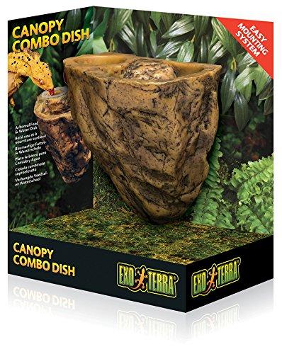 Exo Terra Comedero - Bebedero Arbóreo Canopy Combo