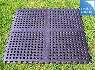 Kampa Easylock Flooring Tiles / Multi-purpose Carpet Tiles - inexpensive UK flooring store.