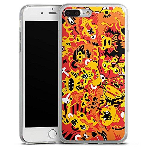 Apple iPhone X Slim Case Silikon Hülle Schutzhülle Fantasie Comic Comicstyle Silikon Slim Case transparent