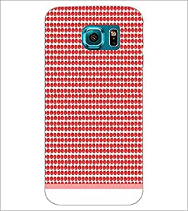 PrintDhaba Pattern D-1899 Back Case Cover for SAMSUNG GALAXY S6 EDGE (Multi-Coloured)