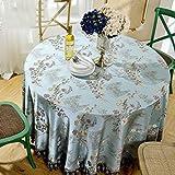 Unbekannt %Tablecloth Continental große Tischdecken Tuch Runde Haushalt Tischdecke Restaurant Gartentisch (größe : Round-120cm)