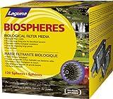 Laguna Filtermaterial Teich-Filtermaterial Biospheres, biologisch, Schwarz, 120 Stück
