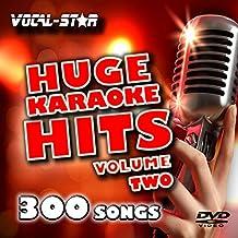 Vocal-Star Huge Karaoke Hits Vol 2 Karaoke Collection HD DVD Disc Pack 10 Discs - 300 Songs