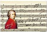 Fridolin 18856 Mozart Chiffon de Nettoyage pour Lunettes Mousseline Multicolore 18 x 12,5 x 1 cm