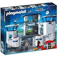 Playmobil 6919 commissariat de police avec prison