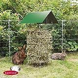 Bellissa® Stand-Heuraufe Kaninchen Meerschwein Nager Futter-Raufe Futterkrippe