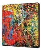 Lilarama Gerhard Richter 1- Art Leinwandbild - Kunstdrucke - Gemälde Wandbilder