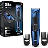 Tondeuse à cheveux HC5030 de Braun-L'expérience ultime de coupe de cheveux par Braun, avec 17longueurs de coupe