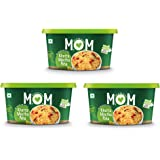 MOM - MEAL OF THE MOMENT Instant Khatta Meetha Poha, 3 x 87 g with Combo