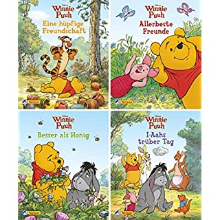 4er Disney Winnie Puuh 5-8 (Nelson Mini-Bücher)