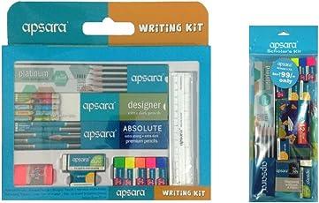 Apsara Writing kit and Scholar Kit Combo