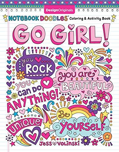 Notebook Doodles Go Girl!