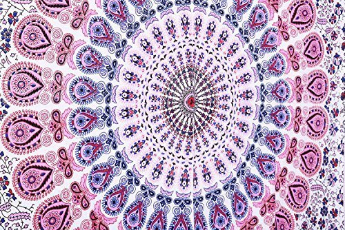 indian-hippie-bohemian-psychedelic-dorm-room-droplet-mandala-wall-hanging-tapestry-purple-pink-twin-