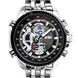 Globalfad Analogue Black Dial Men's Watc...
