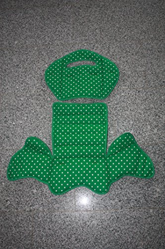 Preisvergleich Produktbild Ersatzbezug, Auflage -für den Kindersitz Römer Jockey Comfort (grün Punkte)