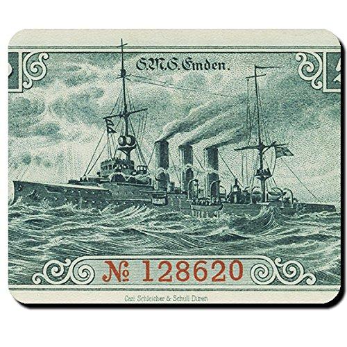 SMS Emden Schiff Marine Krieg kleiner Kreuzer deutsches Kaiserreich Wk - Mauspad Mousepad Computer Laptop PC #8281