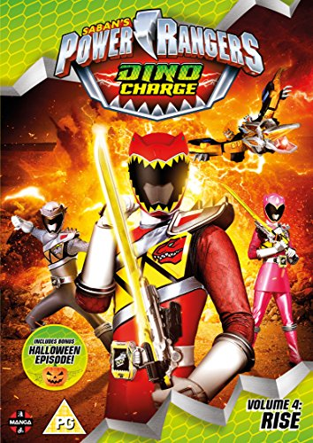 Power Rangers Dino Charge: Rise (Volume 4) Episodes 13-17 (Incl. Halloween Special) [DVD] [UK Import] (Power Ranger Halloween)