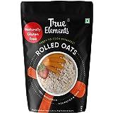 True Elements Rolled Oats Gluten Free 4kg - Whole Oats, Healthy Cereal, Breakfast Food