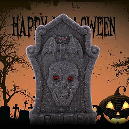 Halloween Horror Requisiten Foam SchŠdel Grabsteine __Garten Ferien Dekoration