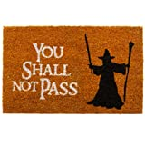 "getDigital Zerbino con scritta (in inglese) ""You Shall Not Pass"