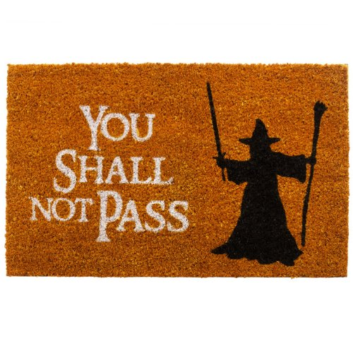 "getDigital Fußmatte ""You shall not pass"""