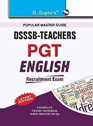 DSSSB: Teachers PGT English Recruitment Exam Guide