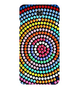 EPICCASE Colorful Gums Mobile Back Case Cover For LG X Power (Designer Case)