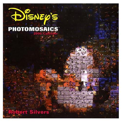 Disney's Photomosaics 2000 Calendar: 16 Month