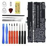 subtel Batterie premium pour Samsung Galaxy Tab S 10.5 (SM-T800 / SM-T805) + Set de micro vissage (7900mAh) EB-BT800FBU Batterie de rechange, Accu remplacement