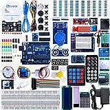 Elegoo Scheda UNO R3 per Arduino Progetto Starter Kit Piu Completo per Principianti con Tutorial in Italiano Learning Kit di Apprendimento (63 Articoli) immagine