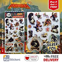 Kung Fu Panda Stickers Large 2001