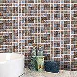 JY ART Z Fliesenaufkleber für Bad u. Küchenfliesen | Fliesen verschönern mit Klebefolie statt Fliesenfarbe | Sticker-Fliesen Wasserdicht Entfernbar /, 10 * 10CM