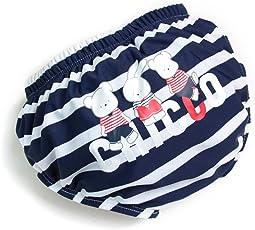 Fascigirl Baby Swim Diaper Cartoon Reusable Baby Swim Pants Swim Accessories