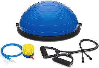 Bosu Ball- Balance Ball- with Tube and Foot Pump