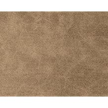 1 METRO de Polipiel para tapizar, manualidades, cojines o forrar objetos. Venta de polipiel por metros. Diseño Jeans Color Marrón ancho 140cm