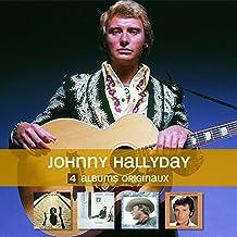 4 Albums Originaux : Johnny Hallyday
