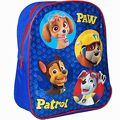 Nickelodeon® Paw Patrol Official Kids Children School Travel Rucksack Backpack Bag (Blue)