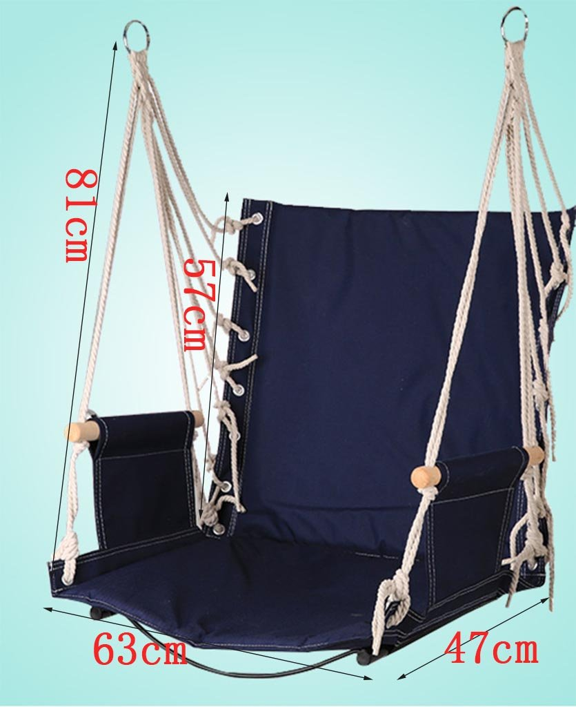 Ailin home- Garden Hammock Hanging Rope Chair, Swing Seat For Any Indoor Or Outdoor Spaces, College Student Dormitory Rope Chair, Load: 150kg ( Color : #3 )  Ailin home