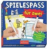 Spielespaß für zwei: Mit abwischbaren Karten + 2 Stiften