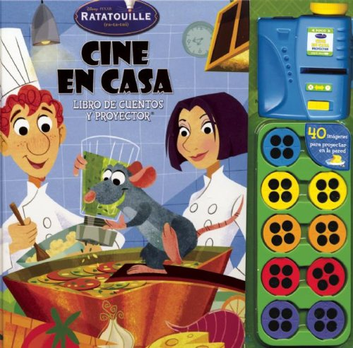 Disney Ratatouille Cine En Casa/Ratatouille Disney Home Theater: Libro de cuentos y proyector/Story book and projector (Cine En Casa/Movie Theater)