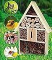 XXL-Insektenhotel, Insektenhaus, Nistkasten 48x31x10 cm von Harms Import & Vertriebs GmbH bei Du und dein Garten